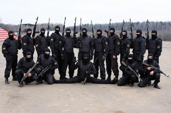 Даты: Отряду спецназа ВВ *Русь* - 22 года