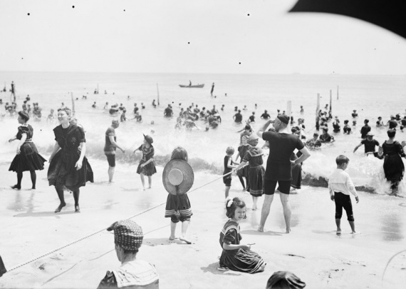 Интересное: Пляжи 30-х годов