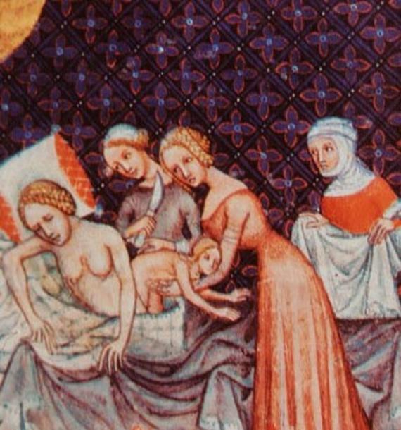 История: Женщина в Средние века