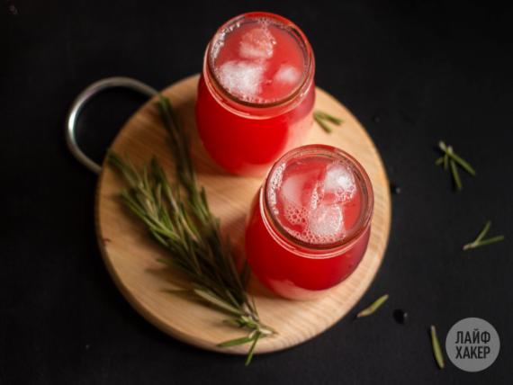 кухня: Алкогольный арбузный лимонад