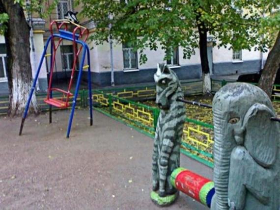 Картинки: Детские площадки