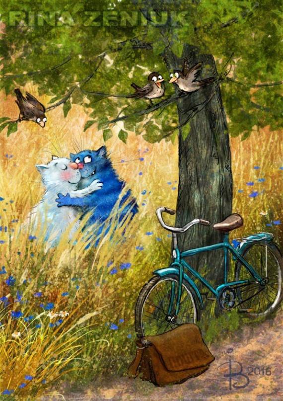 Картинки: Синие коты