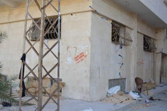 Война: Российские саперы в Пальмире