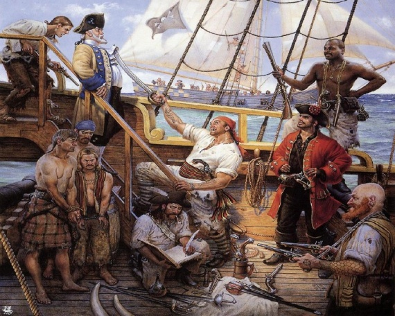 Интересное: Кто такие пираты