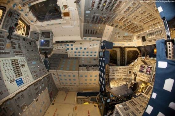 Интересное: Космический корабль изнутри