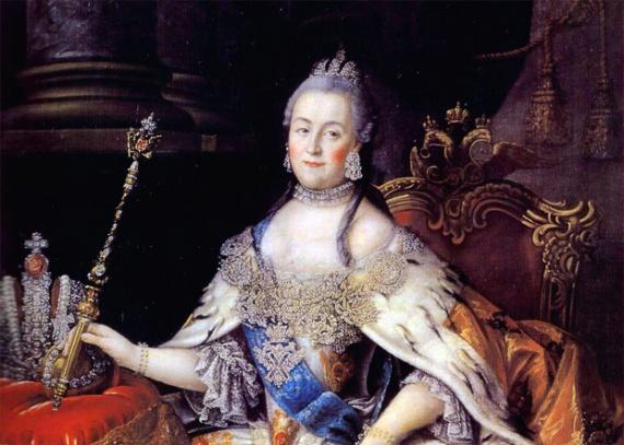 История: Трон императрицы