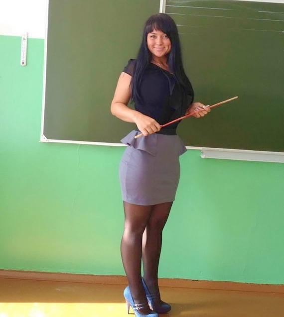 Секс с учителнечой