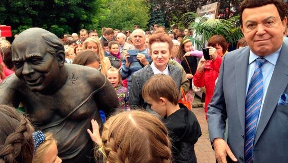 Новости: В Москве открыли памятник Леонову