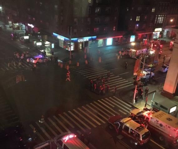 Новости: Проишествия: Взрыв на Манхеттене. Есть пострадавшие