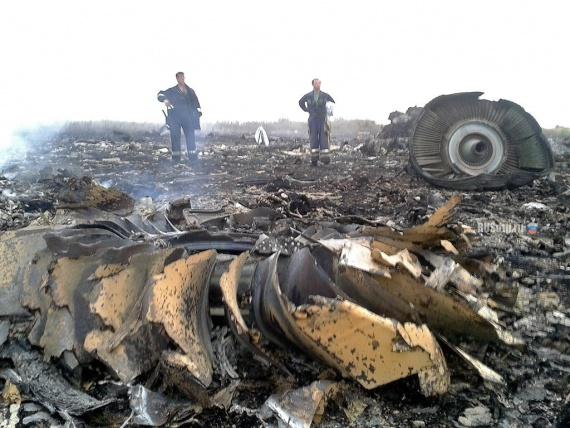 Происшествия: Лживый доклад о гибели MH-17