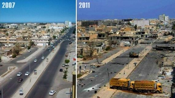 Политика: СМИ узнали о просьбе к России начать операцию в Ливии