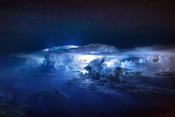Природа: Фотографии из самолета