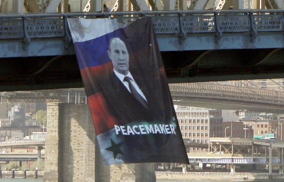 Общество: Путин в Америке - миротворец