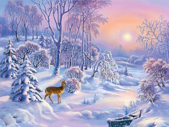 Интересное: Зима будет аномально холодная