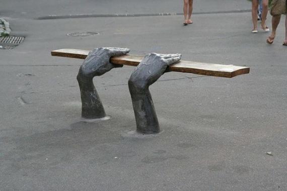 Интересное: Креативные скамейки