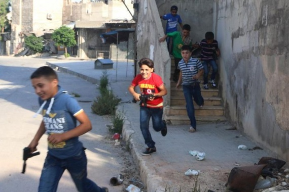 Война: Сирийские дети