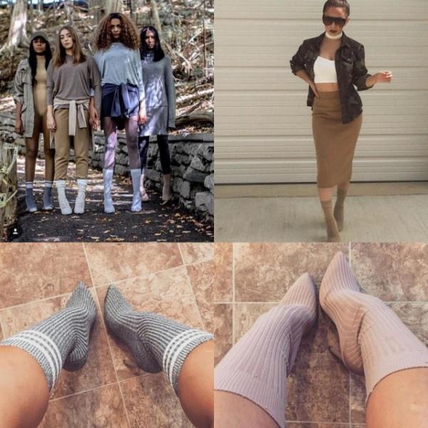Безумный мир: Новая мода - носки поверх туфель