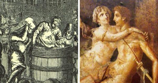 История: Интересные законы Рима