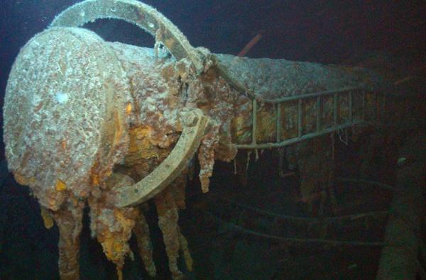 Интересное: Находки с погибших кораблей