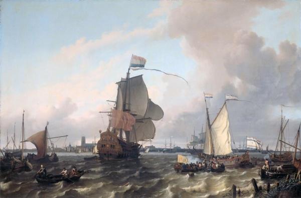История: Интересное: Чем питались моряки двести лет назад