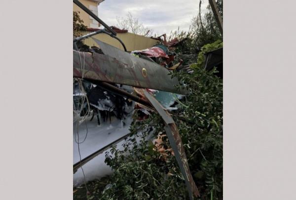 Падение вертолета в Адлере