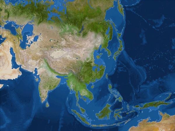 Природа: Карта Всемирного Потопа