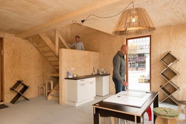 Безумный мир: В Нидерландах прошел конкурс на лучший проект дома для беженцев
