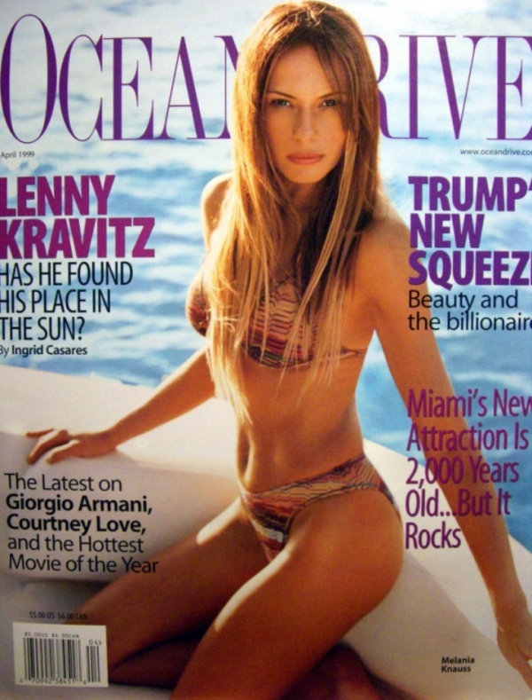 Интересное: Жена Дональда Трампа - Мелани