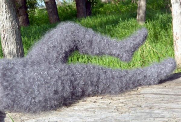 Интересное: Оренбуржские пуховые лосины