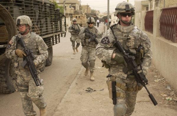 Война: В Сирии погиб американский боец