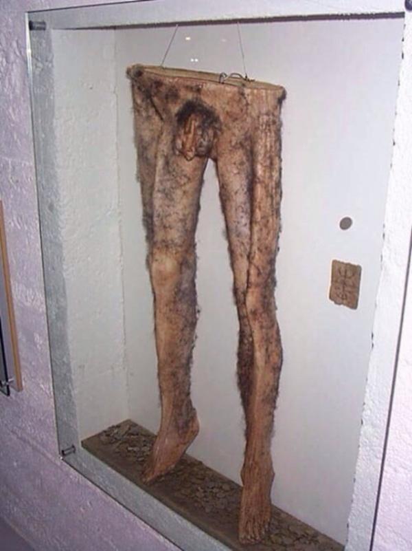 Интересное: Штаны из покойника