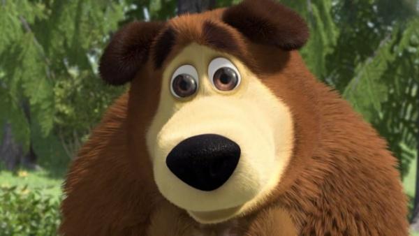 Юмор: Медведь пришел - алкогольная игра на деньги