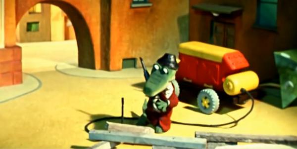 Юмор: Преступные эпизоды жизни крокодила Гены