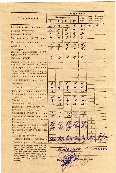 Общество: Школа в СССР