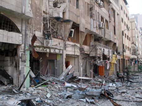 Война: В Сирии погиб наш офицер
