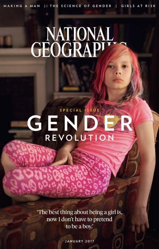 Безумный мир: Лицом National Geographic  стал ребенок-трансгендер