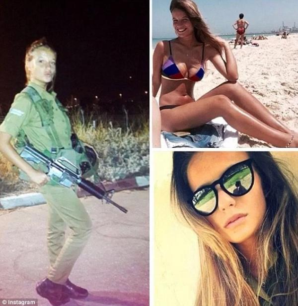 Интересное: Израильские военные девушки