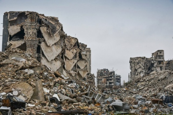 Война: Российские саперы в Алеппо