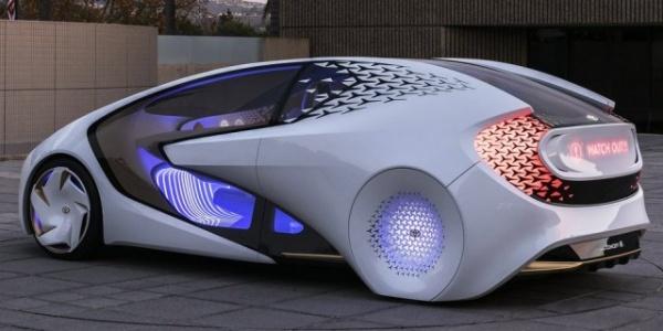 Технологии: Toyota создала автомобиль с искусственным интеллектом