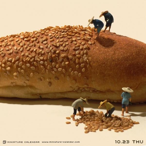 Картинки: Миниатюры от японского художника Тацуя Танака