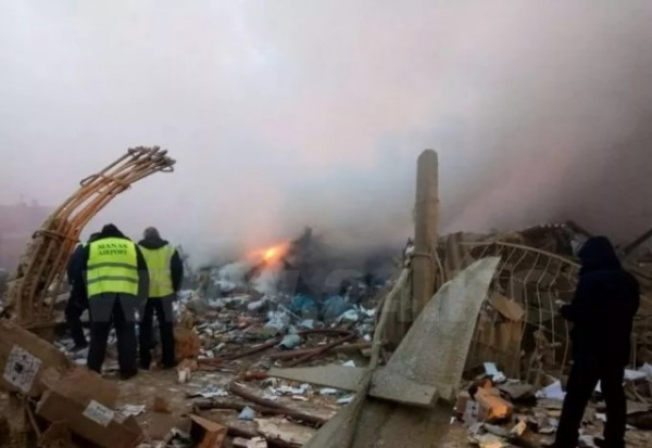 Происшествия: В Киргизии упал Боинг 747