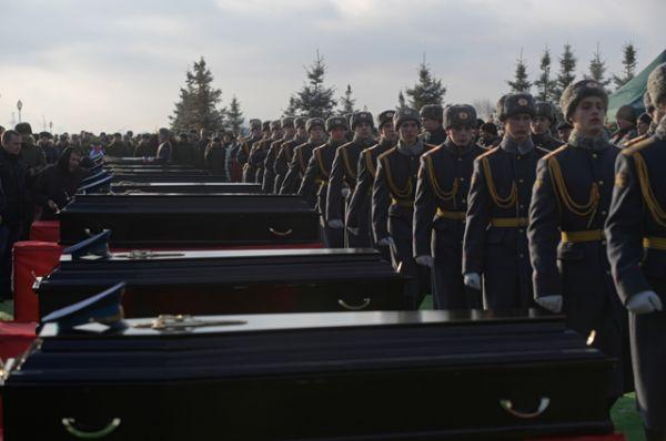 Общество: Сегодня в Москве прощаются с погибшими при крушении самолета Ту-154