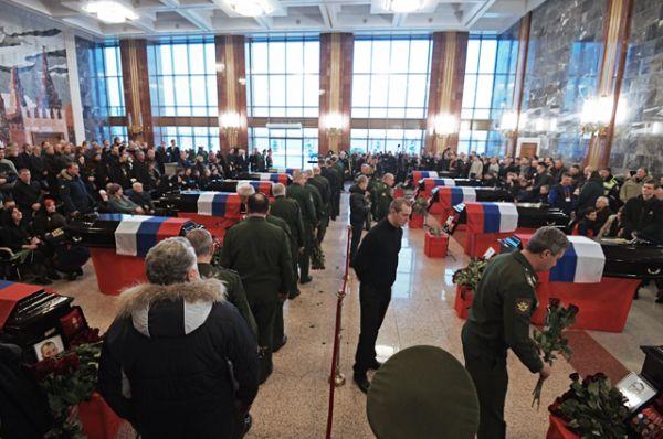 Общество: Блог djamix: Сегодня в Москве прощаются с погибшими при крушении самолета Ту-154