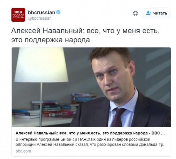 Безумный мир: Навальный уверяет, что его поддерживает народ
