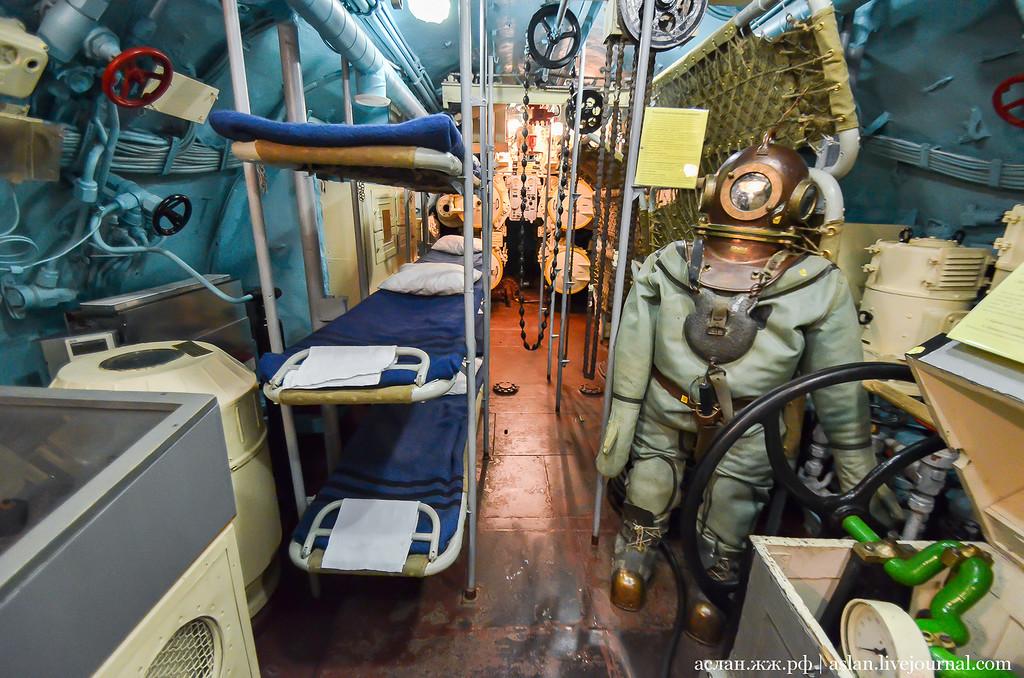 Личное оружие на подводной лодке