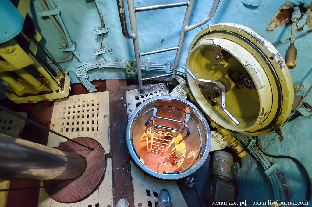 сколько туалетов на подводной лодке