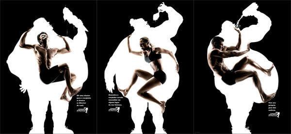 Здоровье: Креативная реклама для желающих похудеть