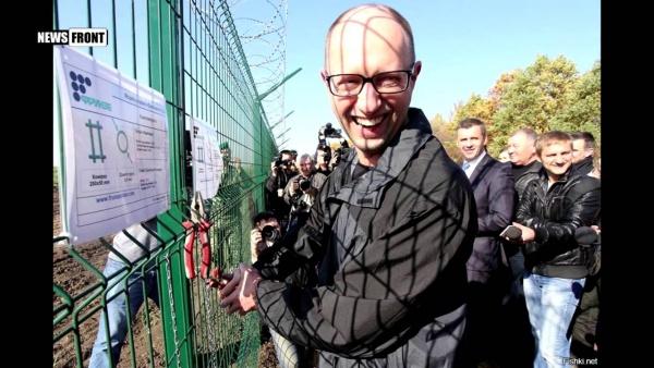 Украина: Яценюк предложил Трампу свой проект Стены
