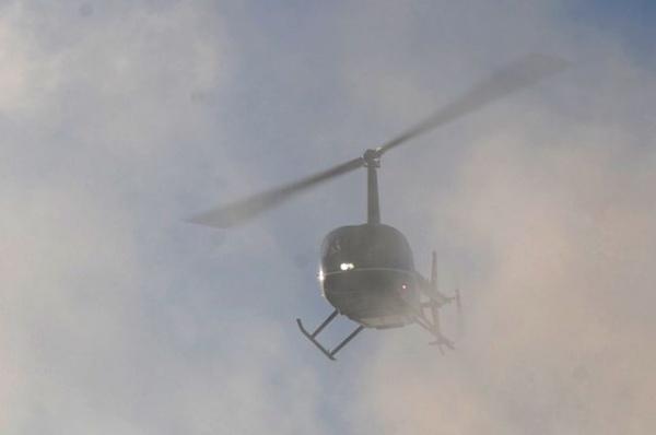 Происшествия: В Алтайском крае упал вертолет, на борту было пять человек