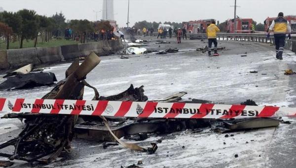 Происшествия: В Турции разбился вертолет с россиянами на борту